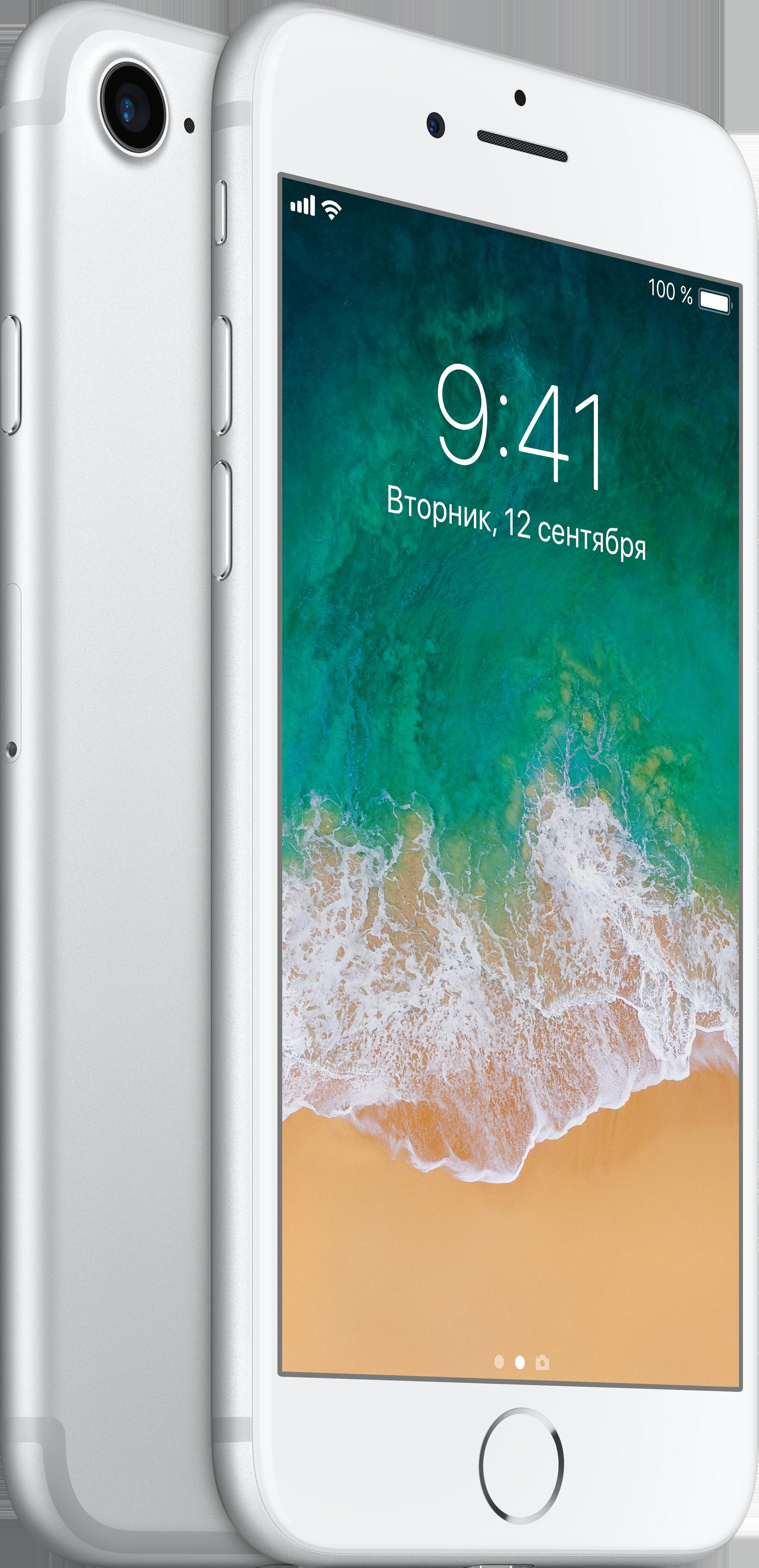 iPhone 7, 32 ГБ, Серебристый