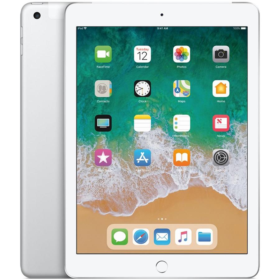 iPad 2018, 128 ГБ , Wi-Fi+4G, Серебристый