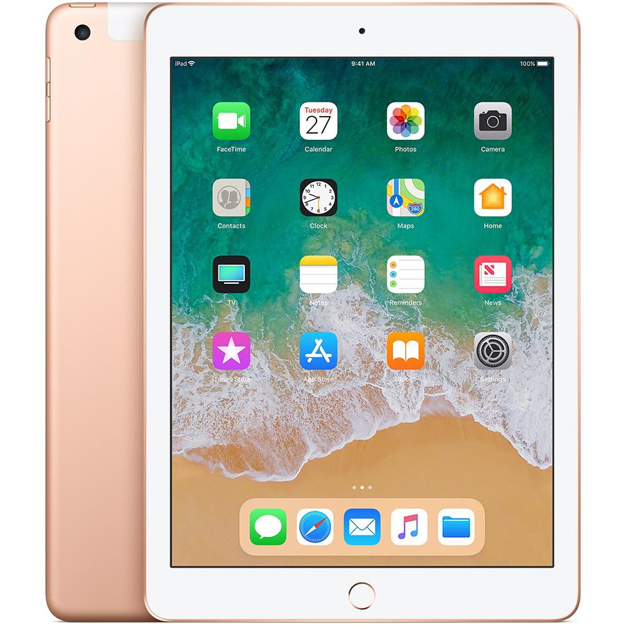 iPad 2018, 128 ГБ , Wi-Fi+4G, Золотой