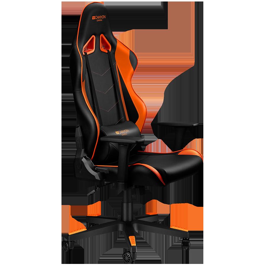Купить Кресло Canyon Deimos CND-SGCH4 черно-оранжевое
