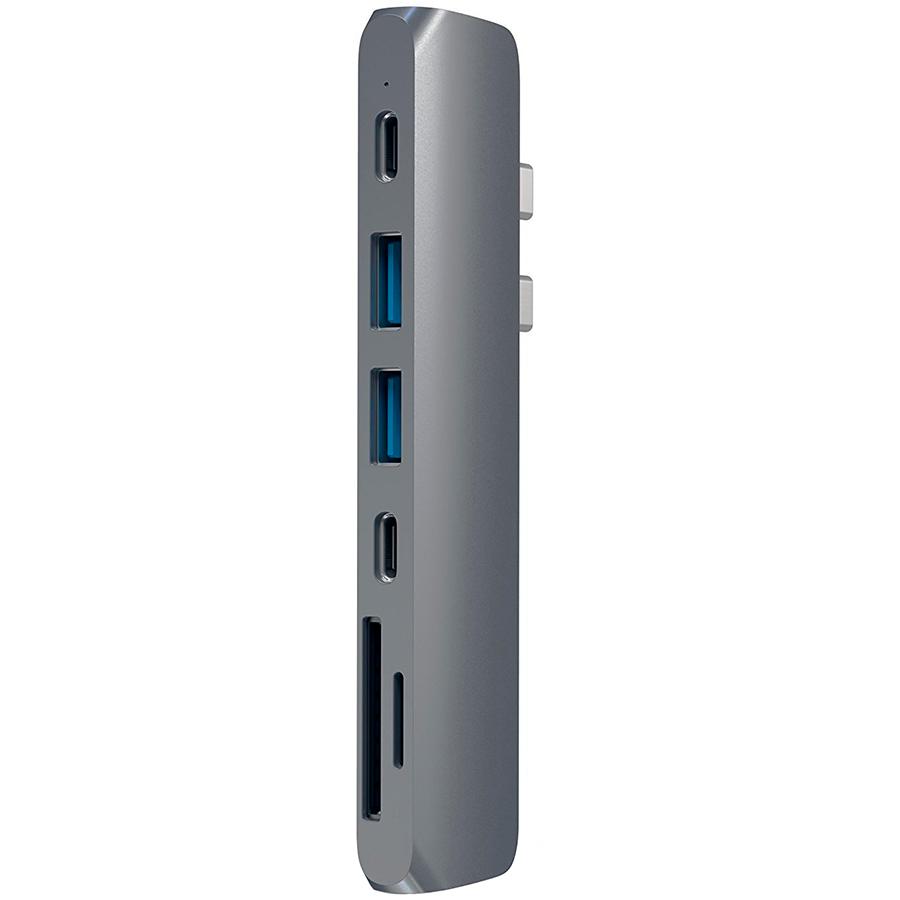 Купить Многопортовый адаптер SATECHI Aluminum USB-C Pro Hub