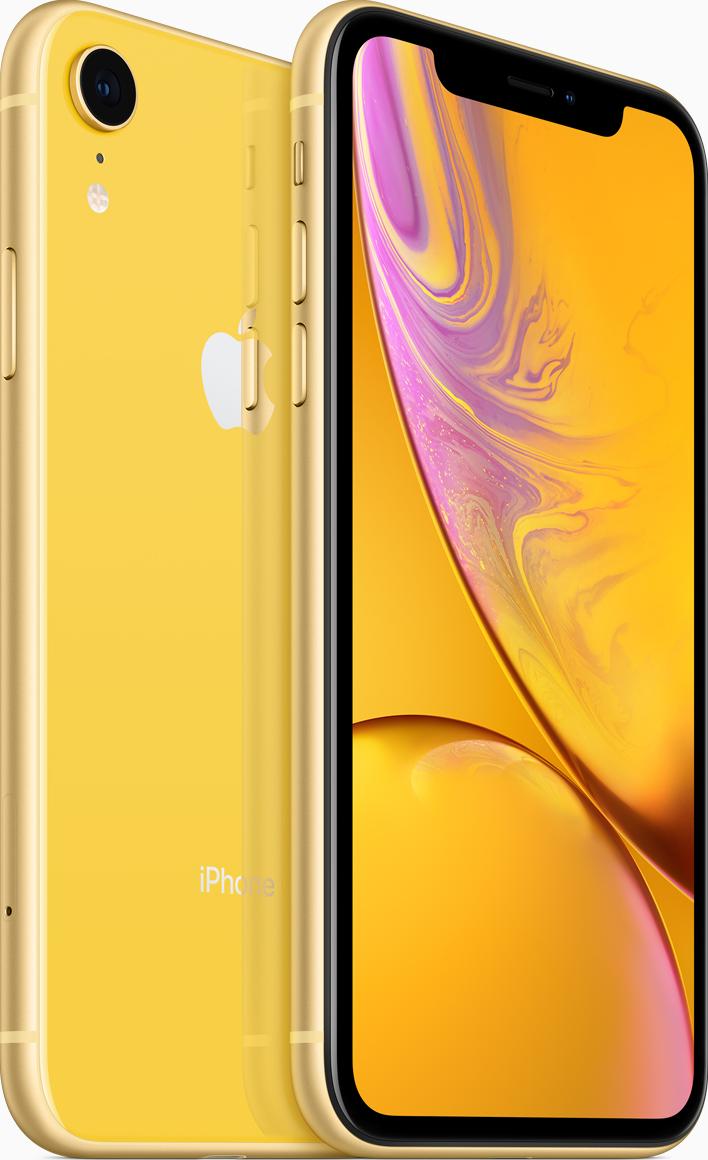 Купить IPhone XR, 128 ГБ, Желтый, APPLE