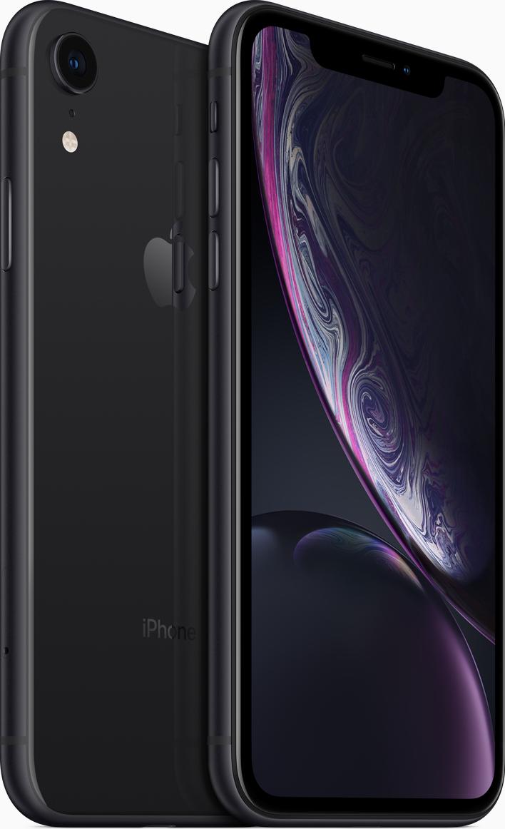 Купить IPhone Xr, 256 ГБ, Черный, APPLE