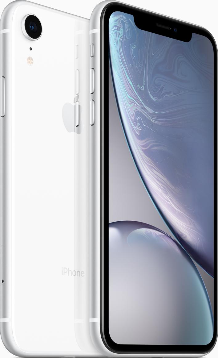 Купить IPhone XR, 256 ГБ, Белый, APPLE
