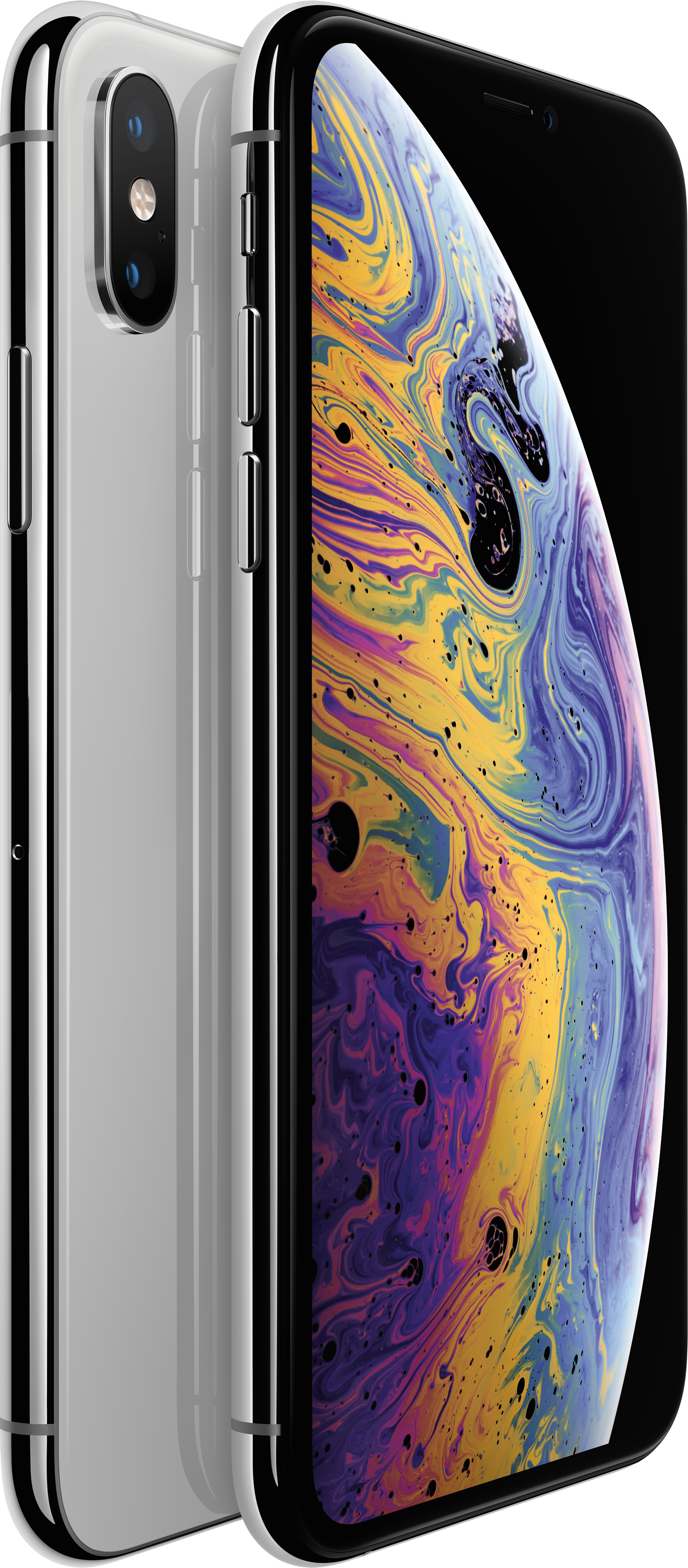 Купить IPhone Xs, 512 ГБ, Серебристый, APPLE