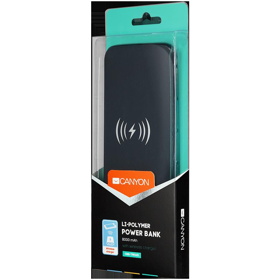 Купить Портативное зарядное устройство CANYON CNS-TPBW8