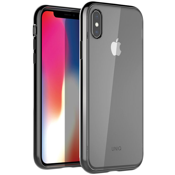 Купить Чехол Uniq для iPhone XS Max Glacier Xtreme Black