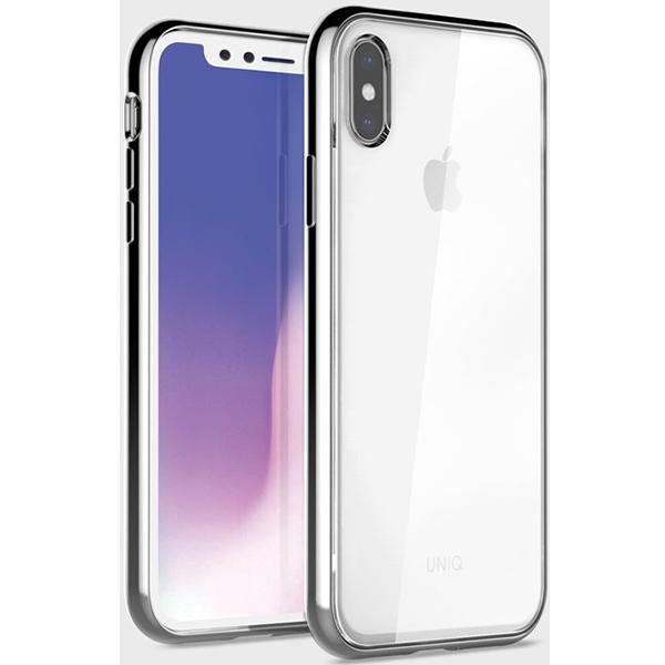 Купить Чехол Uniq для iPhone XS Max Glacier Xtreme Silver