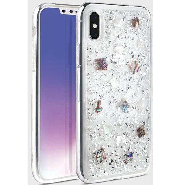 Купить Чехол iPhone XS Max Lumence Clear Silver, UNIQ