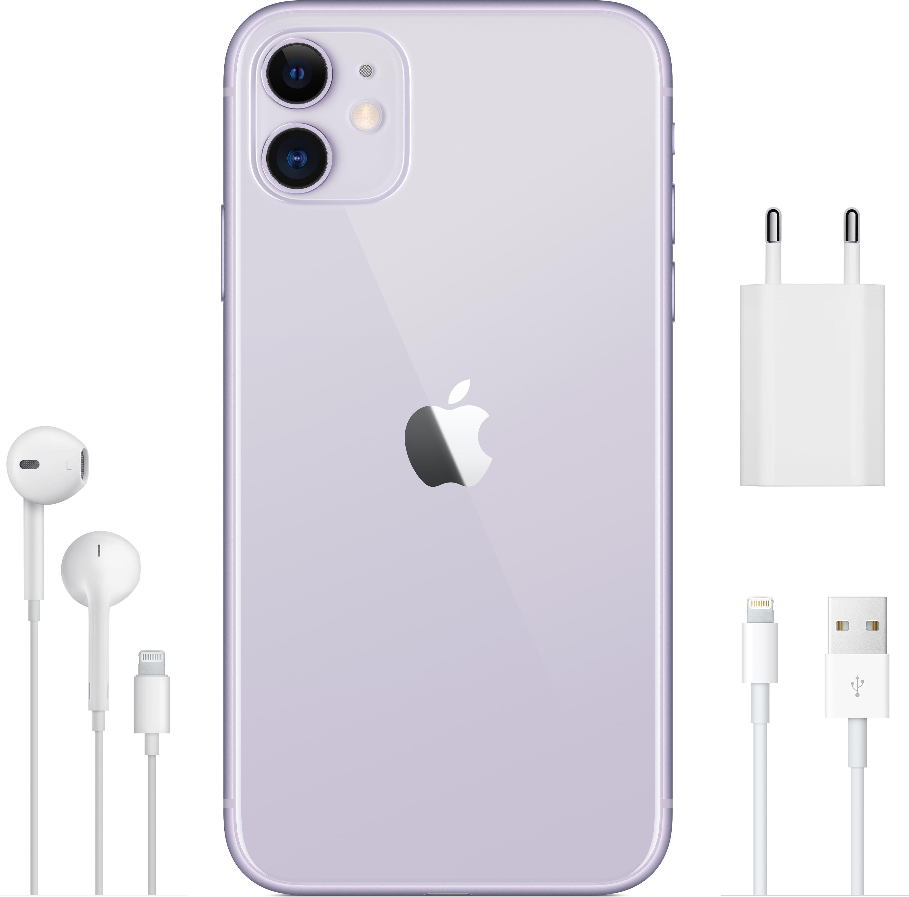 APPLE / IPhone 11, 64 ГБ, Фіялетавы