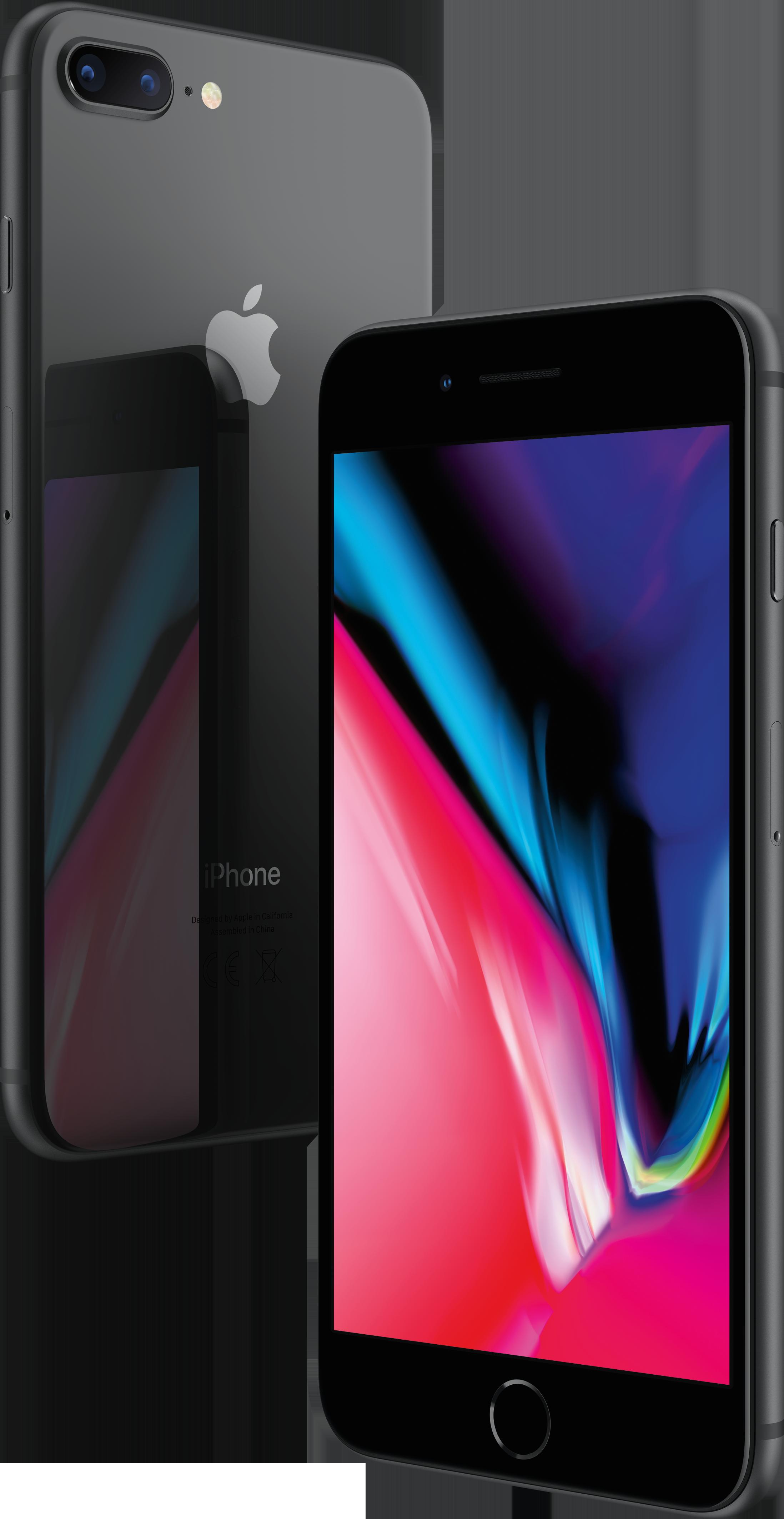 Купить IPhone 8 Plus, 128 ГБ, Серый космос, APPLE
