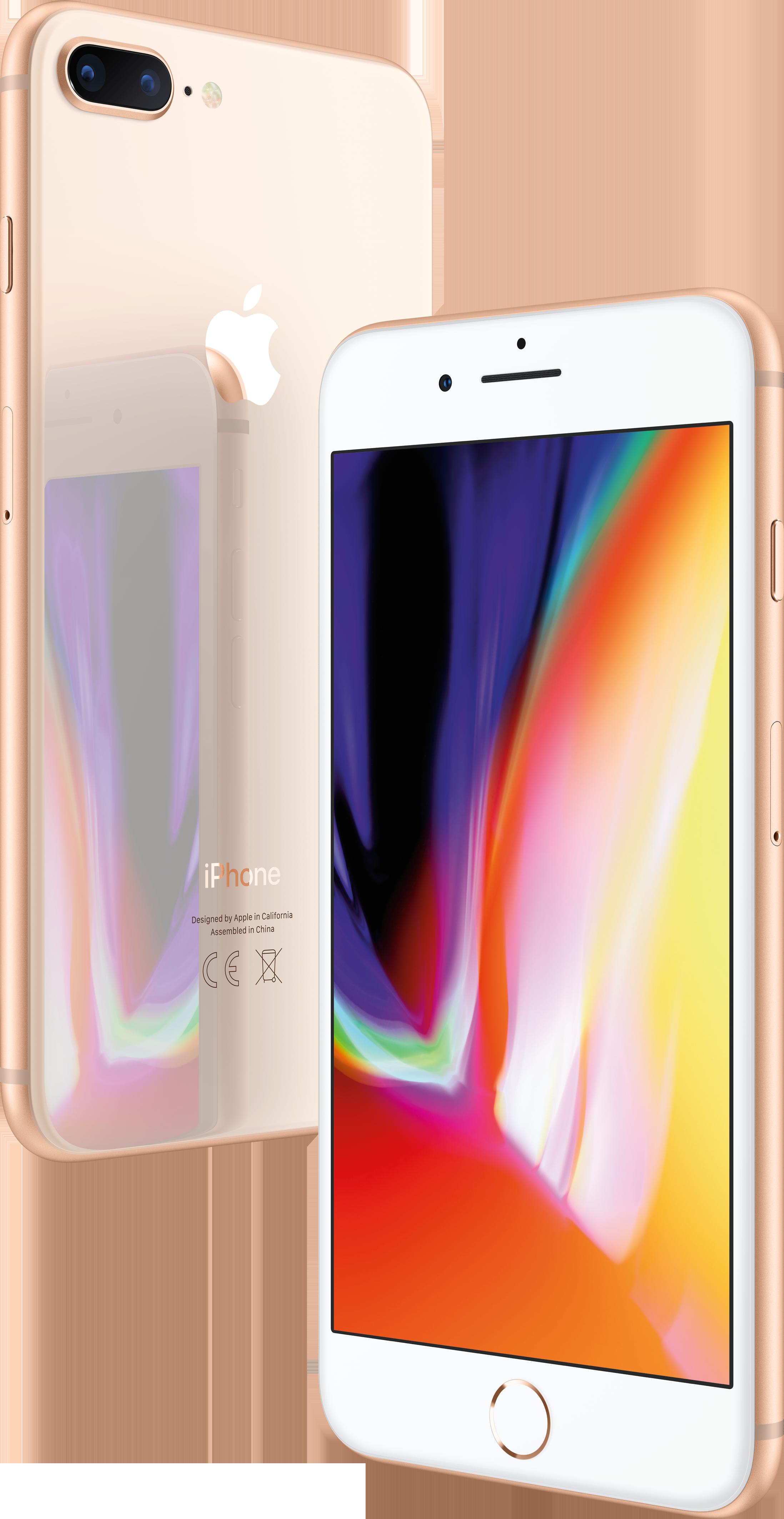 Купить IPhone 8 Plus, 128 ГБ, Золотой, APPLE